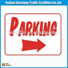 car park signs, traffic signs