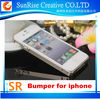 ULTRA THIN SLIM ALUMINIUM METAL BUMPER FRAME COVER CASE FOR IPHONE 4G 4S 5G 5S