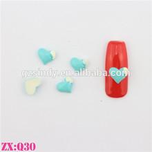 Resin sweet heart nail art guangzhou supplier for nails
