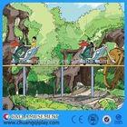 China Air bike amusement rides, Theme park decorations !outdoor mini amusement ride train