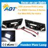 License Plate Lamp 24 SMD LED Light No Error For BMW E63 E64 650i M6 E85 E86 Z4 M E81 E87