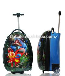 KIDS LUGGAGE cartoon kids school trolley bag children rolling luggage caseBBL16-01