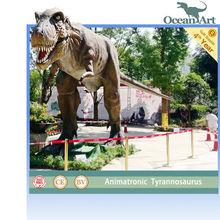 ديناصور متحرك النحت لمراكز التسوق
