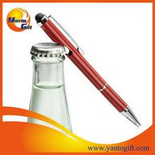 Bottle opener stylus pen