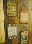 Wall Hanging Decorative Wooden Wall Art Plaques