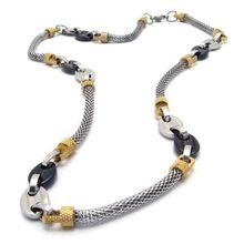 YesOneStop mens copper necklace chain