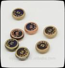 trousers metal rivet button, metal coat button, customize enamel rivet for garment