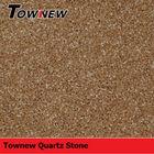 Chinese cheap coffee color professional design heat-resistance quartz stone