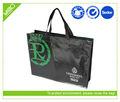 黒ラミネート服用途の袋、 不織布ショッピングバッグ