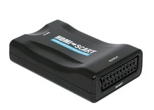 MHL/HDMI to SCART Converter Composite Video HD Stereo Audio Adapter for TV2, PS3, SKY, Blu Ray DVD