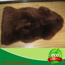 Warmth sheep area rugs lamb fur