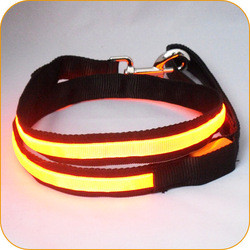 Custom Size Electric Pet Products LED Flashing Small Dog Leash