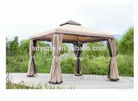 Outdoor gazebo tent,Garden gazebo with mosquito net,Waterproof fabric for gazebo parts