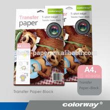 Vivid Color Inkjet laser heat transfer paper