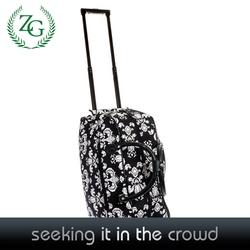 Fashionable Wheeled Duffle Bags , Luggage Travel Bag , 600D Duffel Bags