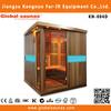 infrared cedar barrel sauna room with CD player for sale