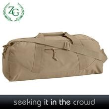 Cheap Beige Canvas/nylon women women duffel bag for travel