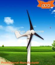 wind generator home supply 400W/600W/1000W/1500W/3000W pitch controlled horizontal wind turbine production factory