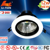 Indoor High power high quality oem 12w cree led downlight