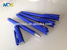 blue color gel pen, jumbo pen, custom logo pen MDS-G002