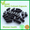 500 mg ISO,GMP Certificate and OEM Private Label Black Cohosh Herb Capsule for Women Health