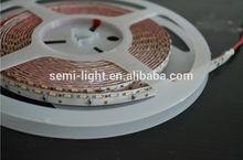 side view LED strips light SMD335 120leds pro Meter IP33 warm White color