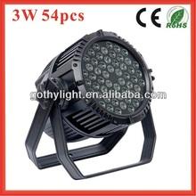 CE ROHS 54x3w Par Outdoor Pro Par 64