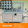 Automatic round soap wrap pleat machine