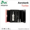 2014 KangerTech New Invention kanger turbo glassomizer E-cigarette aerotank Turbo