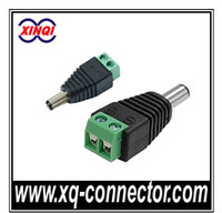 2.1mm 12V Male DC Power Connector Rj45 To RJ11 Adapter