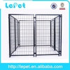 2014 new iron large outdoor galvanized cheap metal dog run cage