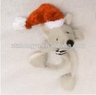 Hot Sale Cheap High Quality Soft Stuffed christmas Stripe Mouse custom plush