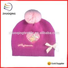 2014 Fashion Wholesale 100% Acrylic Custom baby knitted beanie hat