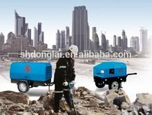 diesel air compressor, atlas copco portable compressor