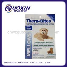 resealable print zipper bags dog food packaging
