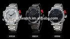 custom logo sport tvg watch all stainless steel watch wholesale man's TVG watch