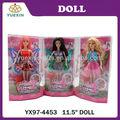 2014 nuevo diseño de los niños juguetes muñeca de moda