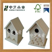 Solid wood handmade bird breeding cage