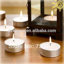 presionado té luz de velas
