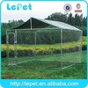 large outdoor chain link rolling chain link dog kennel cage stainless steel