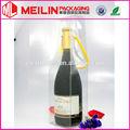 transparente de vidrio de vino caja de embalaje