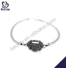 Retro design fashion bracelets jade jewelry hong kong