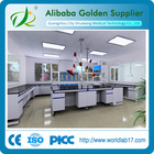 laboratory equipment lab central table/laboratory wall bench/laboratory furniture design factory price
