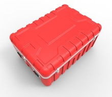 ABS plastic military carrying box,tool packing box,hard plastic gun case