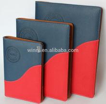 custom leather agenda