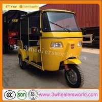 Alibaba Website 2014 New Fashion Design Bajaj Gasoline Tricycle for Passenger for sale