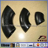 carbon steel pipe fittings long radius elbow dimensions
