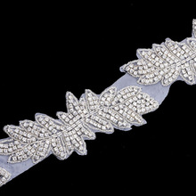 Wholesales rhinestone lace dress accessory