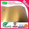 Epoxy polyester metallic gold powder paint