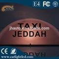 12 V LED Taxi lumière supérieure pour toit publicité, Peut personnalisé